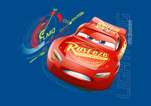 Canvasschilderij - Cars 3 - 95 Lightning McQueen Speed