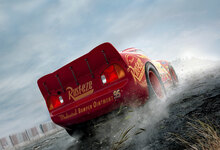 Canvasschilderij - Cars 3 - Fast not Last - Lightning McQueen