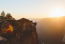 Fototapet - Taft Point, Yosemite National Park