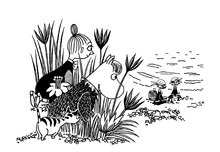 Canvastavla - Moomin - Pirate Picnic