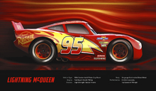 Canvasschilderij - Cars 3 - Lightning McQueen - Technical Data