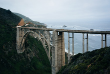 Canvas print - Bixby Creek Bridge