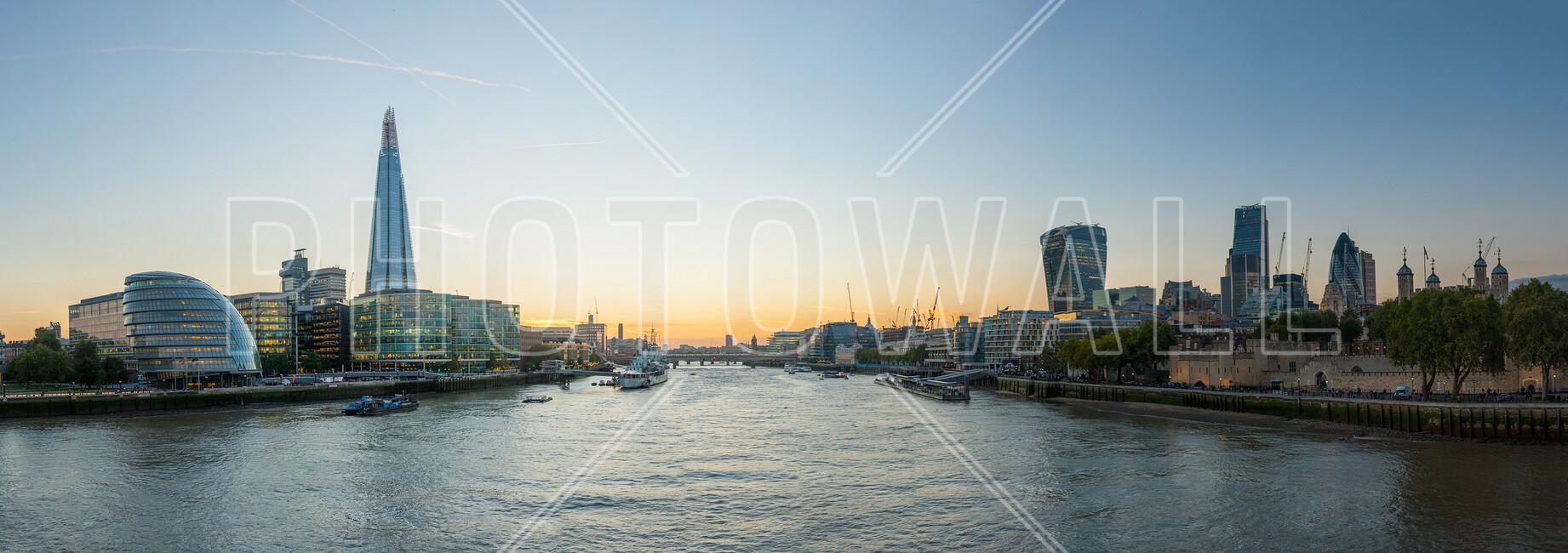 London cityscape wall mural photo wallpaper photowall for London cityscape wallpaper