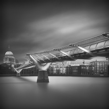 Canvas print - Millennium Bridge