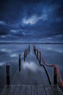 Canvas print - Pier to Nowhere