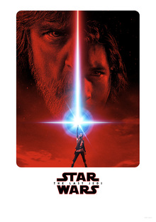 Canvastavla - Star Wars - The Last Jedi Movie Poster
