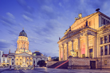 Canvas print - Gendarmenmarkt in Berlin