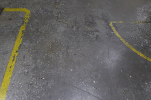Fototapet - Concrete Floor on Wall 4