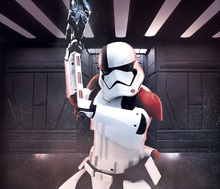 Canvastavla - Star Wars - Armed Stormtrooper