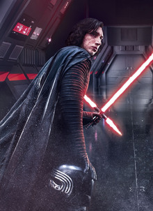Canvastavla - Star Wars - Kylo Ren