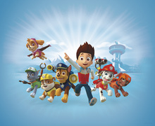 Fototapet - PAW Patrol - PAW Patrol is on a roll