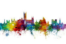Canvas print - Canterbury Skyline