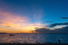 Canvas print - Bantayan Sunrise II