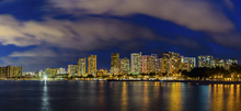 Canvas print - Honolulu Lights