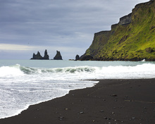 Canvas print - Black Sand of Iceland