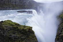Canvas print - Gullfoss Waterfall, Iceland
