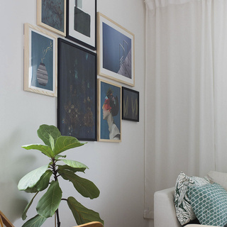 How to create a nice picture wall - hanging guide