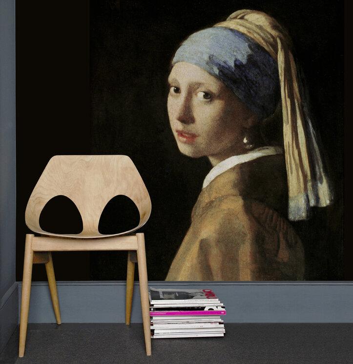 girl with a pearl earring jan vermeer preiswerte fototapete photowall. Black Bedroom Furniture Sets. Home Design Ideas