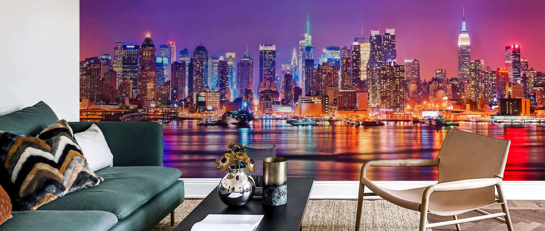new york in pink fototapete nach ma photowall. Black Bedroom Furniture Sets. Home Design Ideas