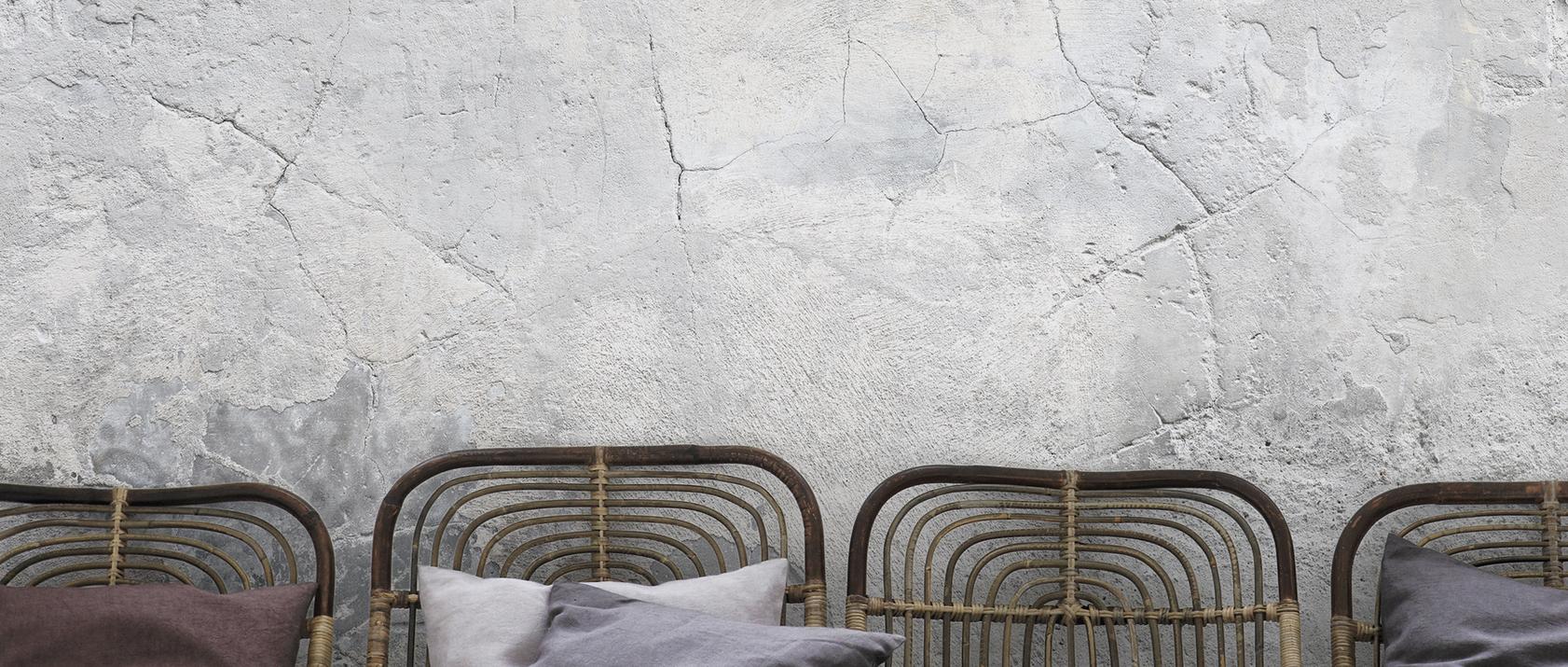 Grey wall murals