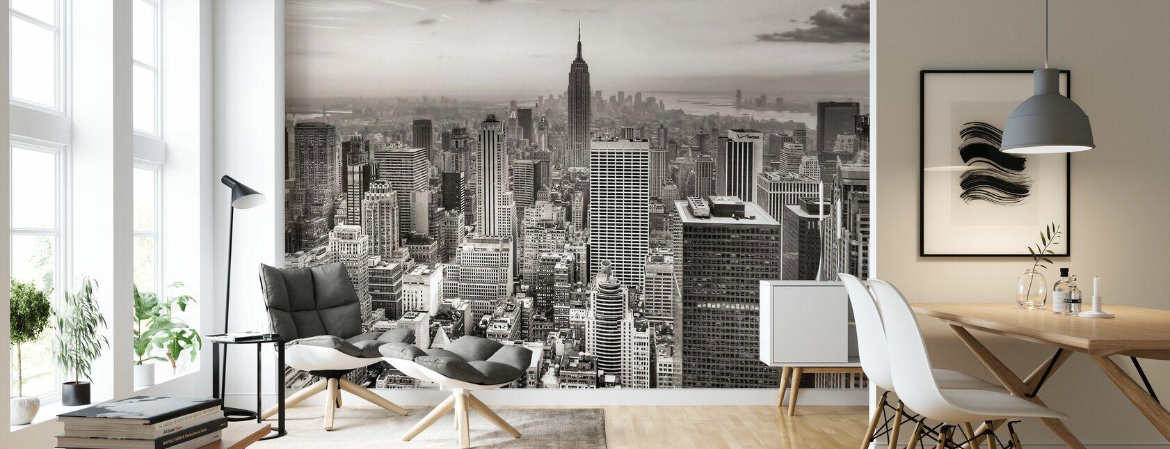 New York, États-Unis - Papier peint - Salle à manger