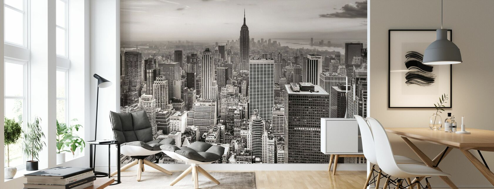New York City, Verenigde Staten - Behang - Woonkamer