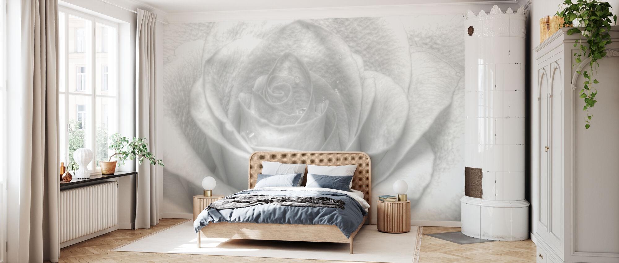 Rose Clé Haute - Papier peint - Chambre