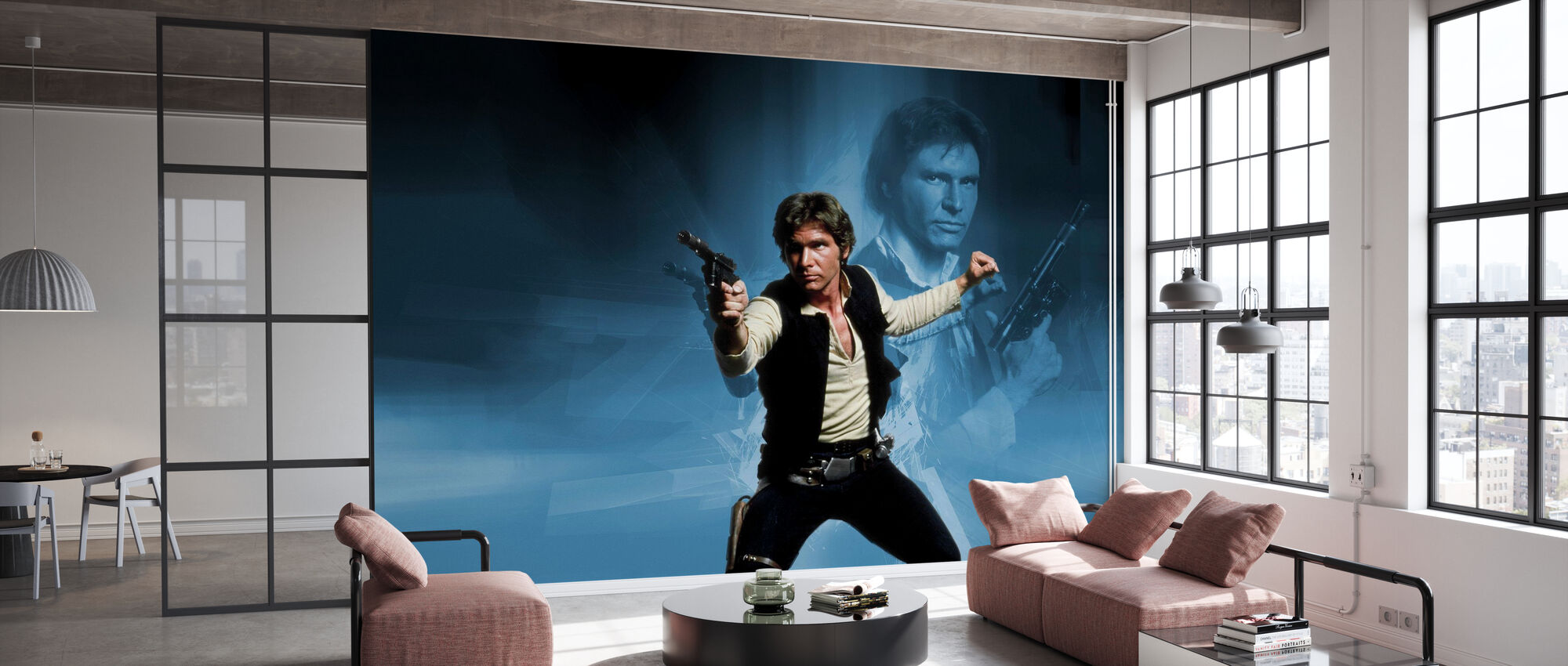 Star Wars - Han Solo Vapen - Tapet - Kontor
