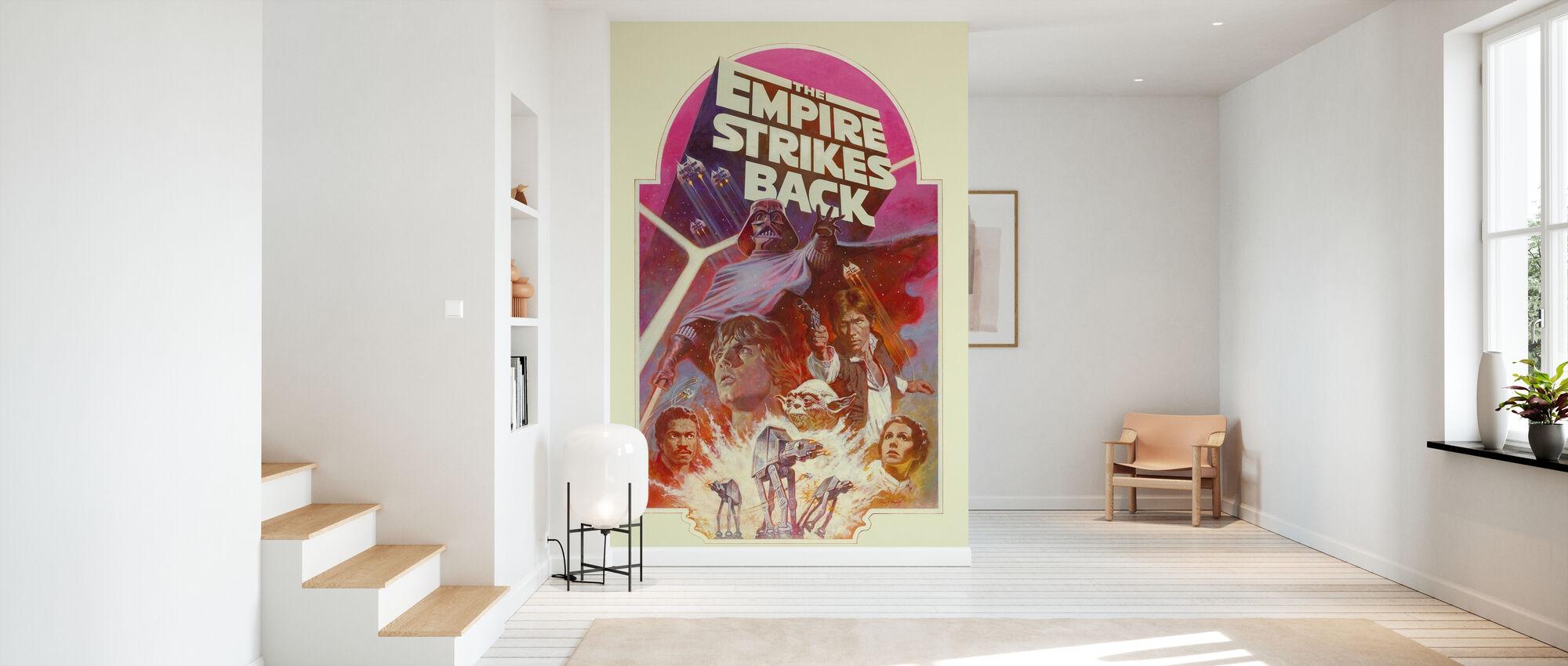 Star Wars - Empire slår tillbaka rosa - Tapet - Hall