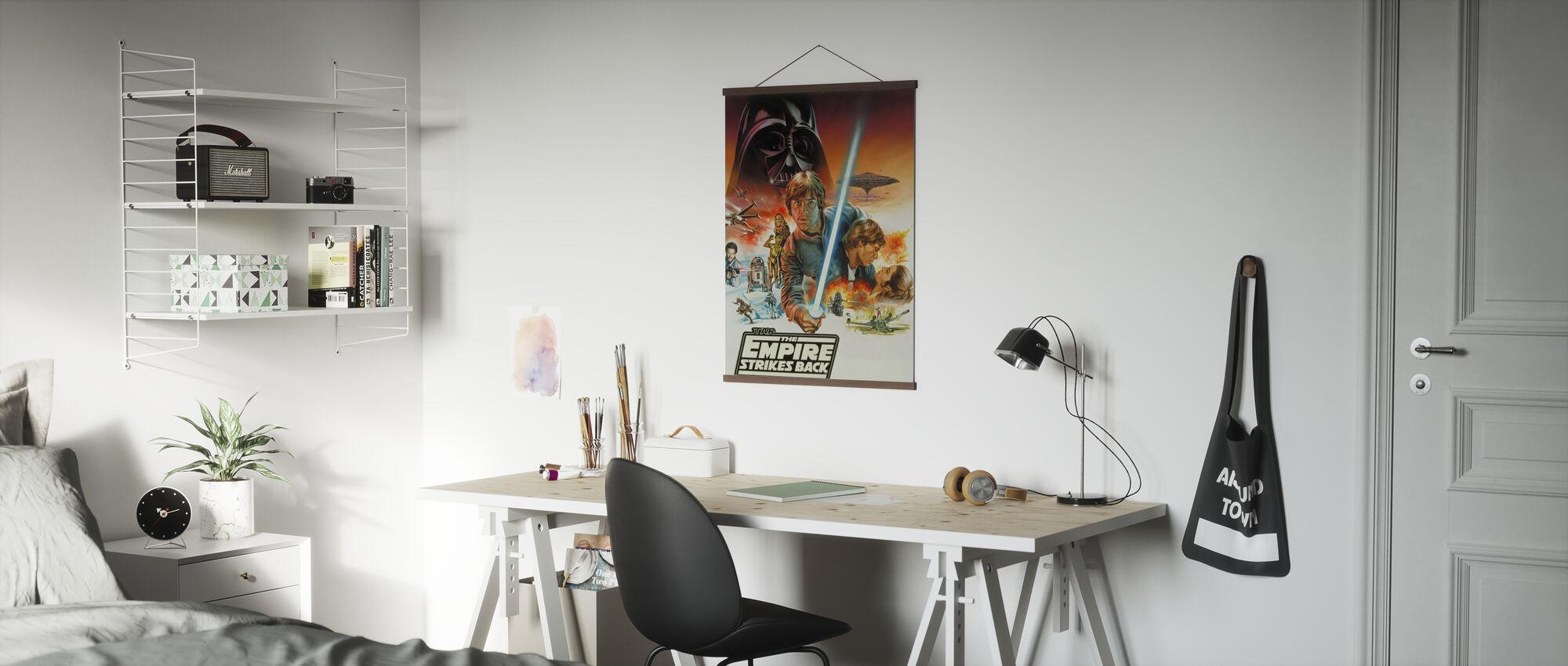Star Wars - Empire slår tillbaka - Poster - Kontor