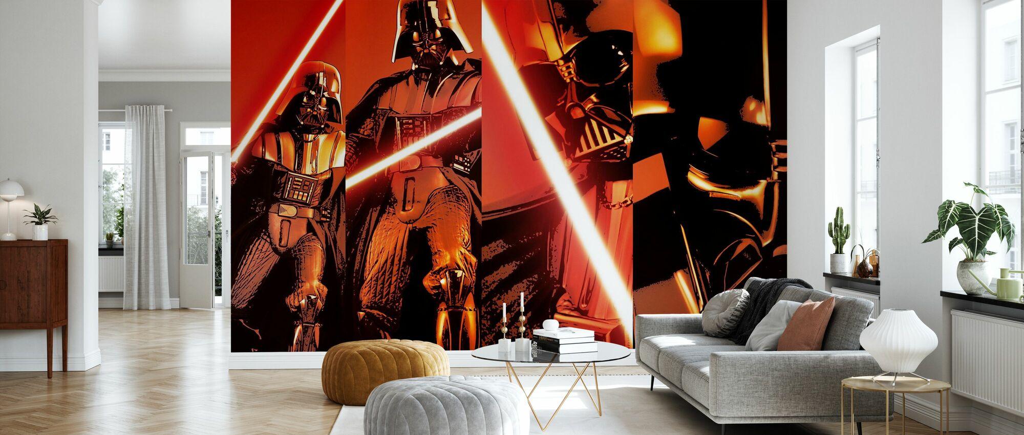 Stjärnornas krig - Darth Vader x 4 - Tapet - Vardagsrum
