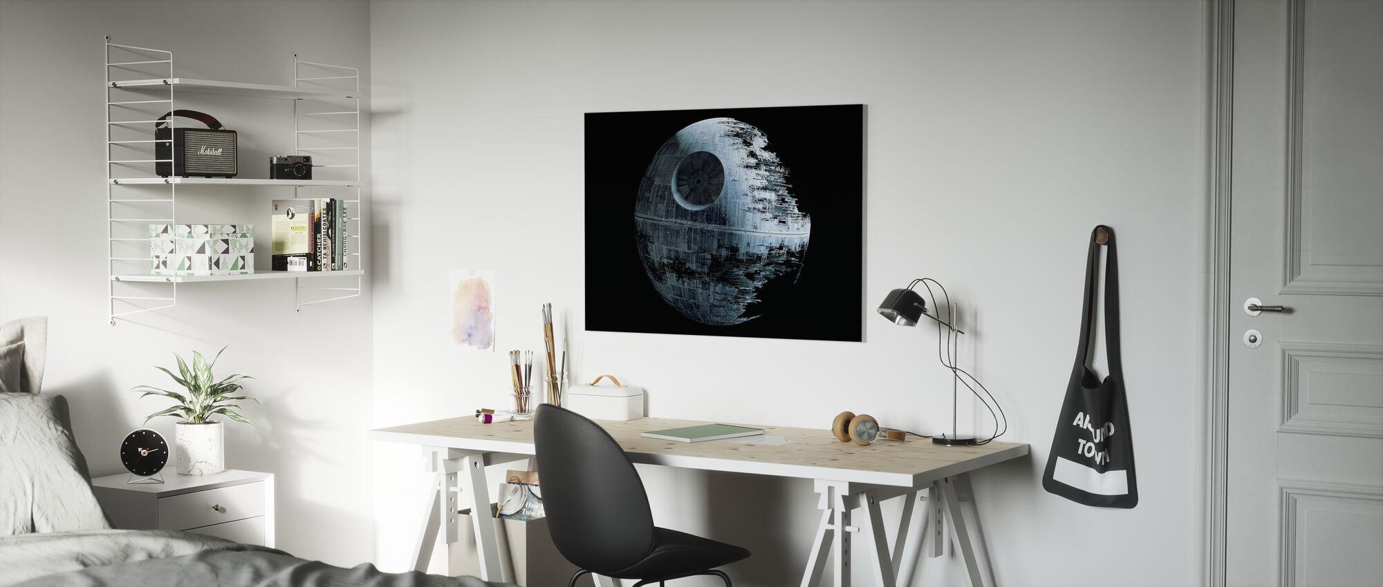 Star Wars - Død Star 2 - Billede på lærred - Børneværelse