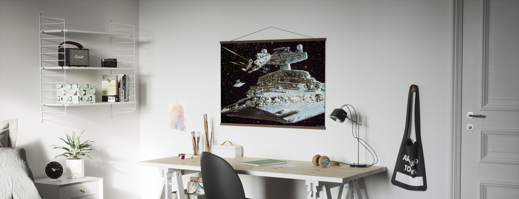 Star Wars - Millennium Falcon angrep - Plakat - Kontor