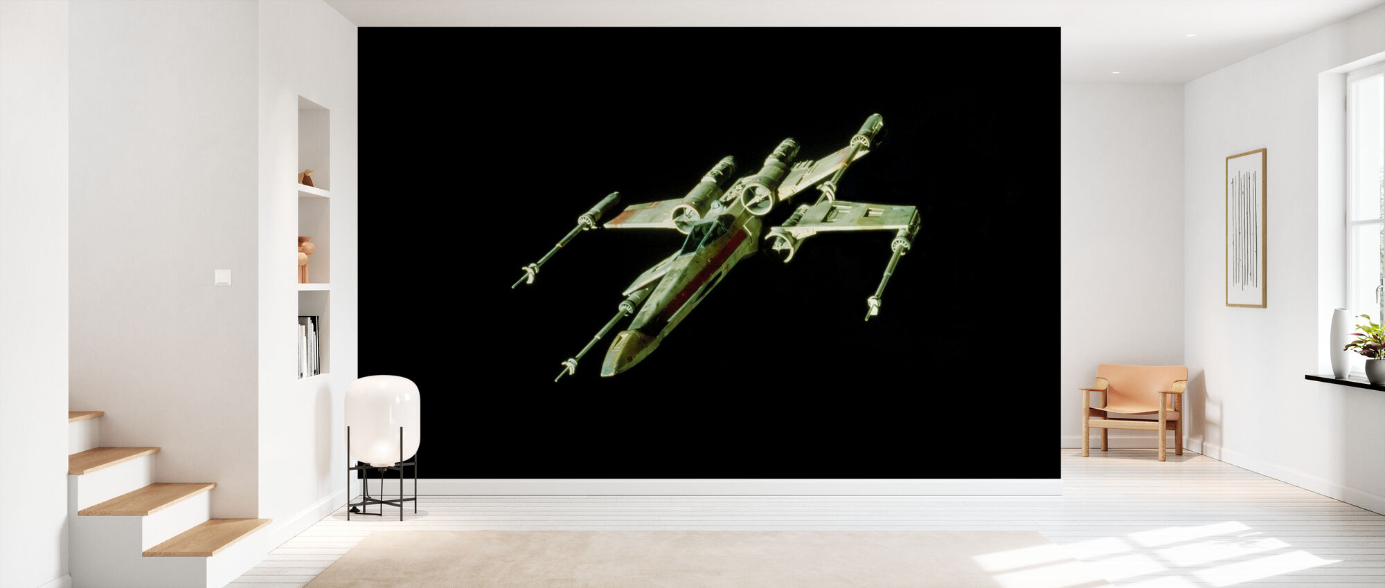 Star Wars - X-wing Starfighter - Tapet - Hall
