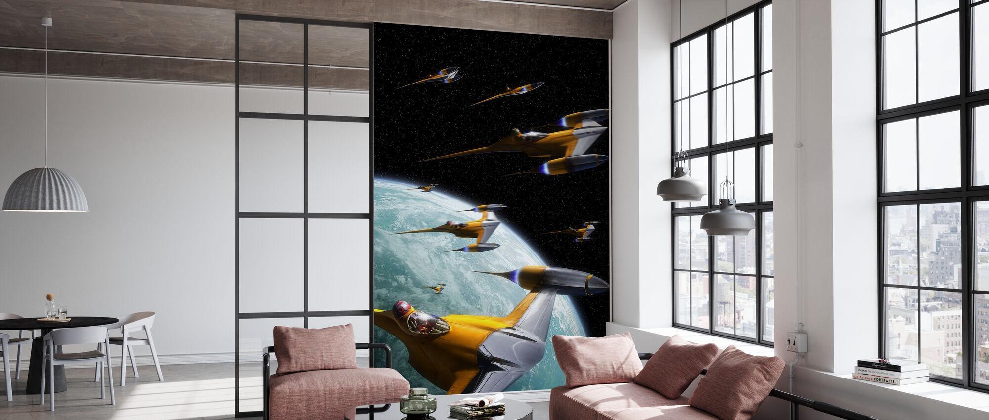 Star Wars - Naboo Starfighters 2 - Tapet - Kontor