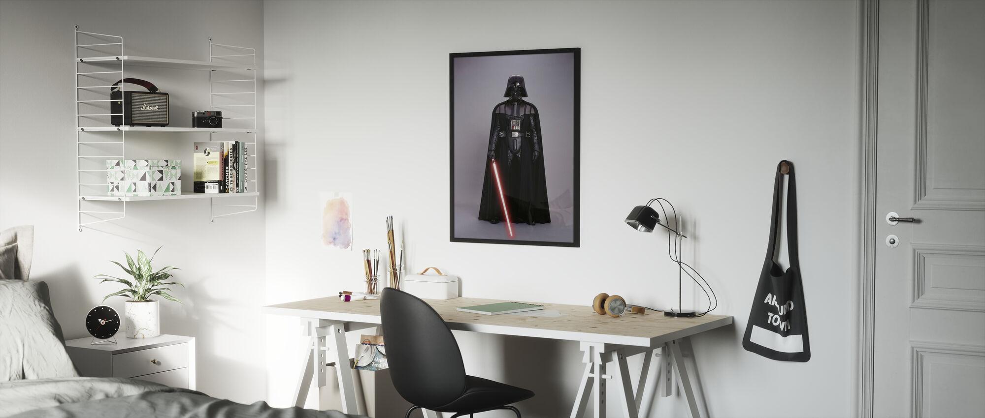 Tähtien sota - Darth Vader Studioshoot 1 - Kehystetty kuva - Lastenhuone