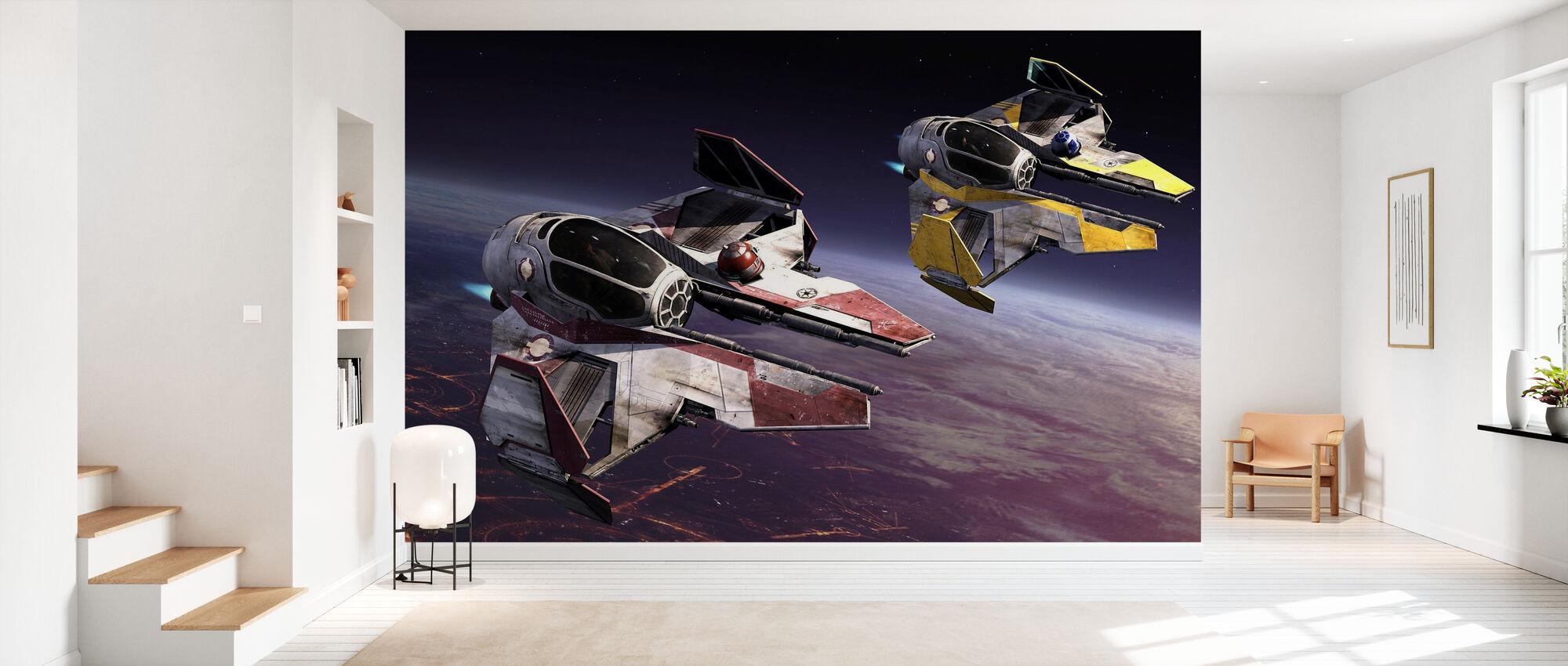 Star Wars - Starfighters over planetene 1 - Tapet - Gang