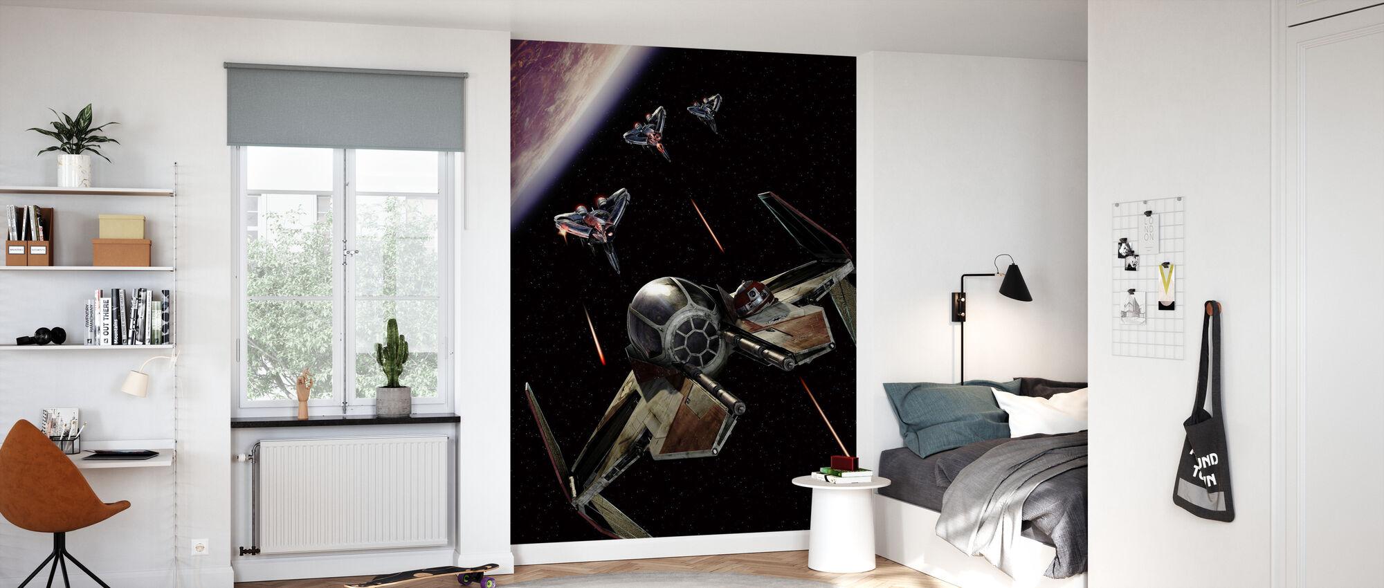 Star Wars - Starfighters Slaget - Tapet - Barnrum