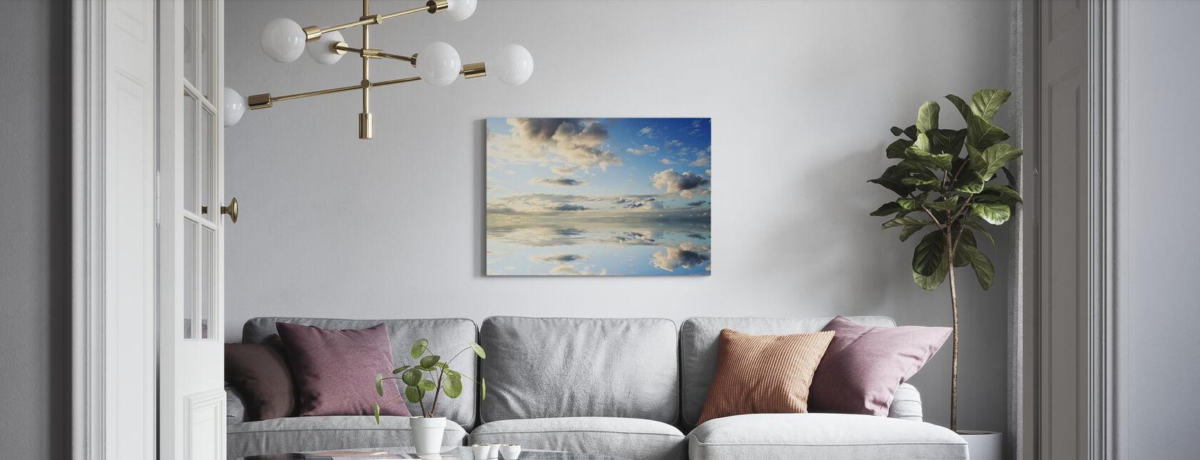Sea and Beautiful Sky - Canvas print - Living Room