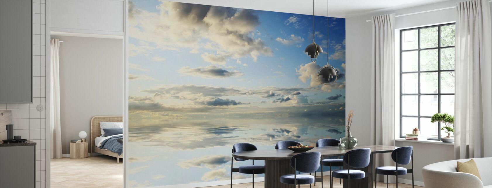 Mer et beau ciel - Papier peint - Cuisine