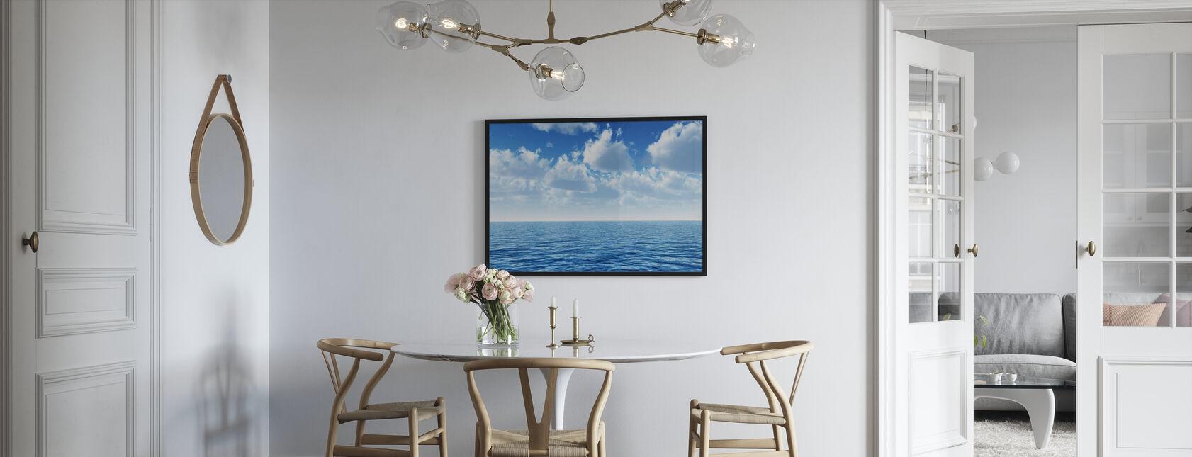 Cloudy Blue Sky Horizon - Poster - Kitchen