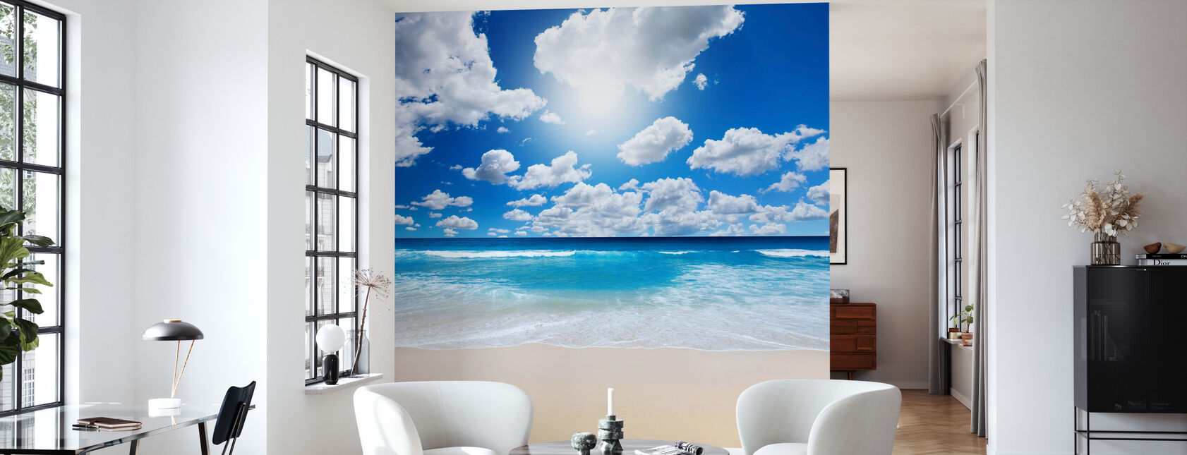 Summertime at the Beach - Wallpaper - Living Room