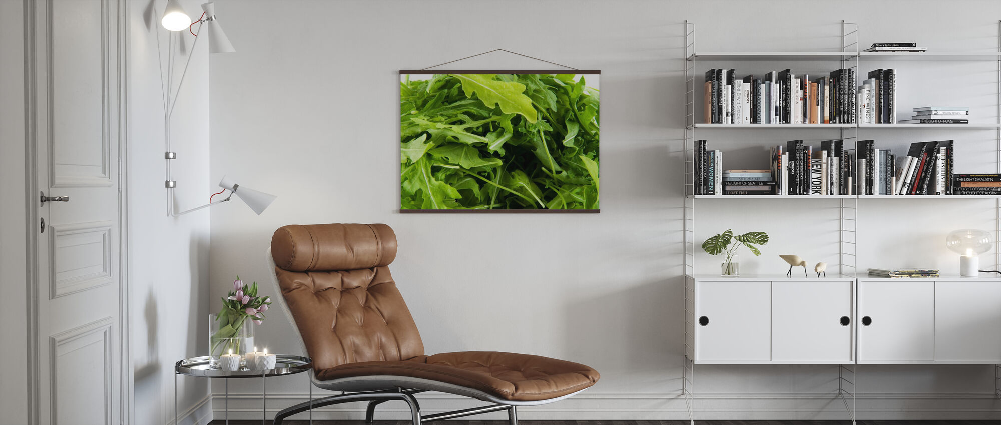 Frische Ruccola - Poster - Wohnzimmer