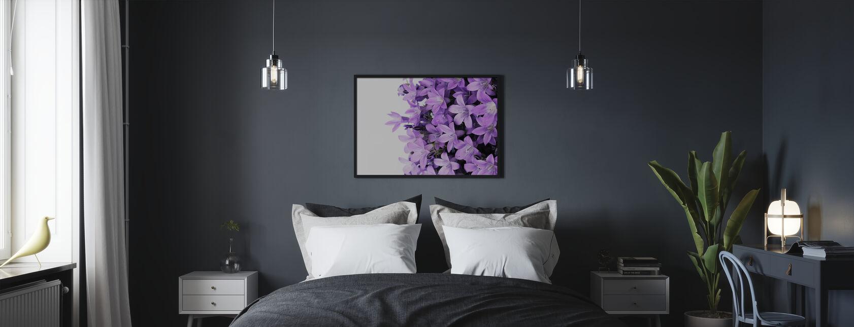 Fleurs violettes - Impression encadree - Chambre