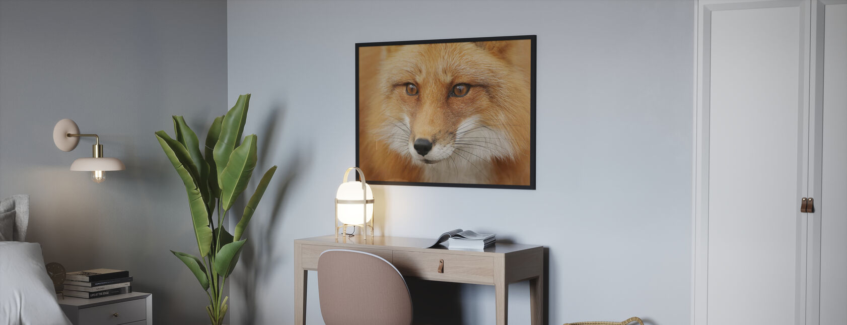 Renard rouge - Affiche - Chambre