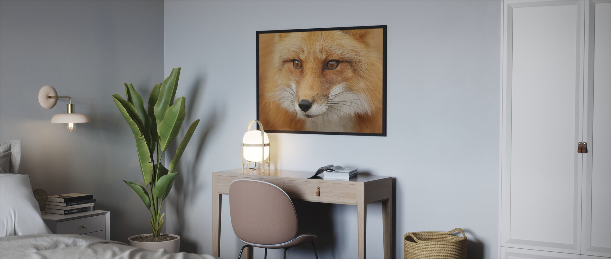 Red Fox - Poster - Bedroom