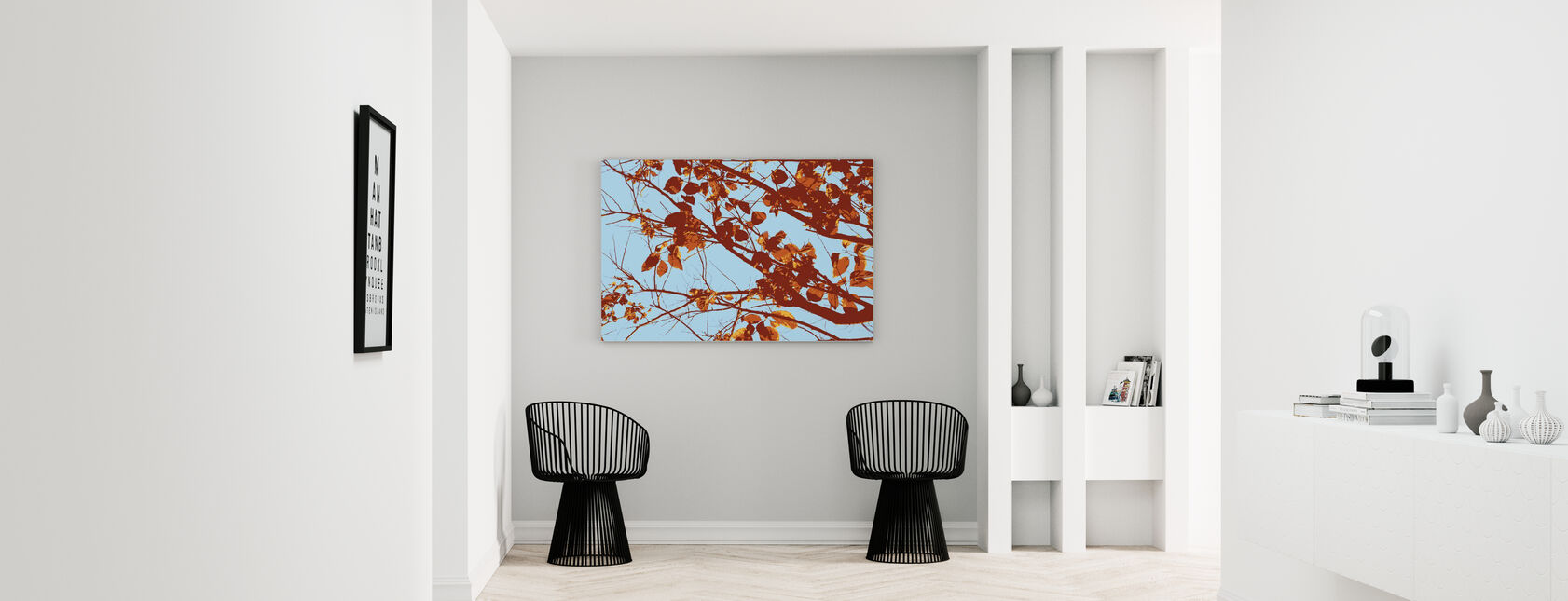 Rode Boom - Canvas print - Gang