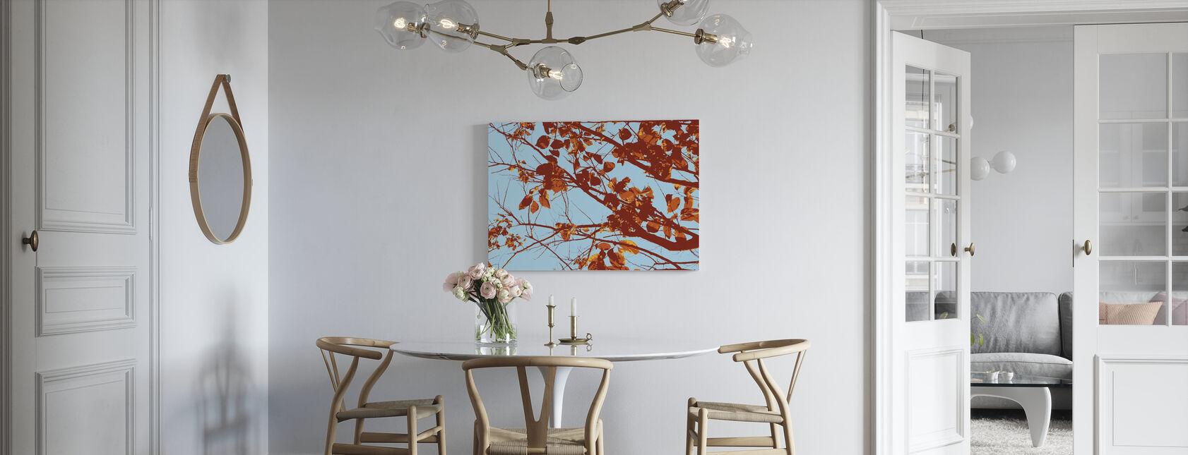 Red Tree - Canvas print - Kitchen