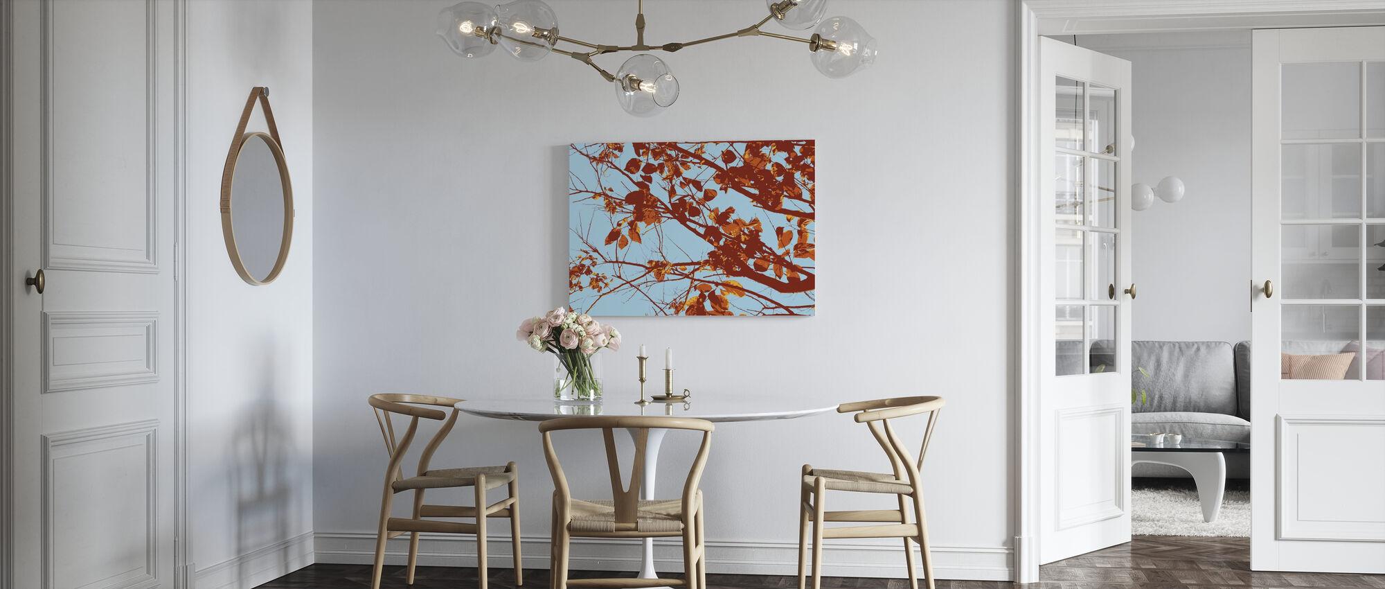 Rode Boom - Canvas print - Keuken