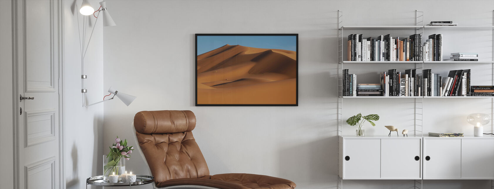 Saharan aavikko - Kehystetty kuva - Olohuone